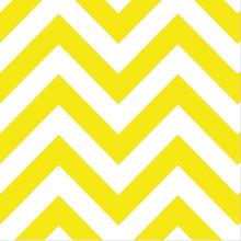 Dessert Napkins - Chevron Yellow