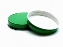 Plastisol Mason Jar Lid - Green