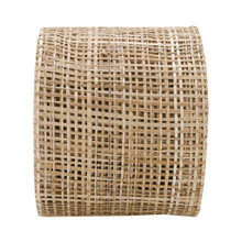 "Abaca Natural Ribbon - 4"" x 10 Yards"