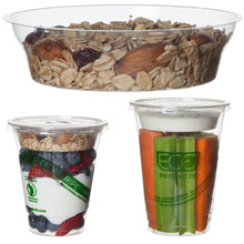 Cup Insert for Compostable Cold Cups