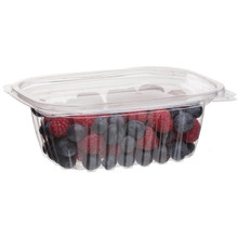 Rectangular Deli Container w/Lid - 12oz