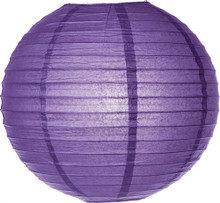 Paper Lantern - Dark Purple