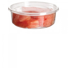 Round Deli Container without Lid - 8oz