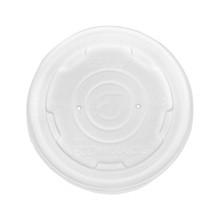 Compostable Lid for 8 oz World Art Container