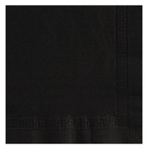Black Cocktail Napkin