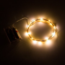 Fairy Lights 6.5ft, 20 Warm White LEDs