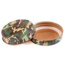 camouflage mason jar lid