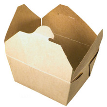 Brown Kraft Take Out Food Container #1