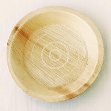 Medium Palm Leaf Plates - 8 in Round