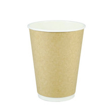 Kraft Double Wall Hot Cups - 16oz