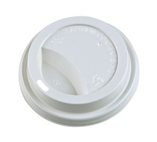 Hot Cup Lids - White - 8oz