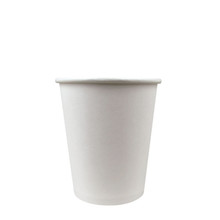8oz white hot coffee cups