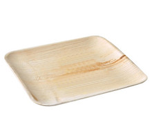 Palm Leaf Plates - 10 in Square - 50 pieces