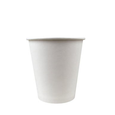 10oz white paper coffee cup