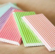 Paper Straws (100) - Select 4 Colors