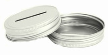 Coin Slot Mason Jar Lid