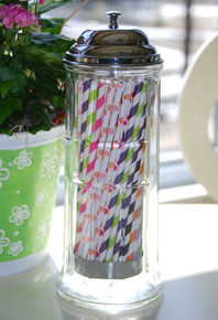 Glass Straw Dispenser