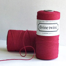 Red Solid Divine Twine