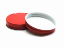 Plastisol Mason Jar Lid - Red