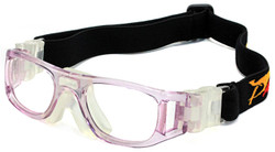 Kids Sports Goggles JH826 Crystal Pink / White (Prescription/Rx Lenses Available)