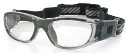 Kids Sports Goggles BL016 Gray / Gray 120mm Frame Width