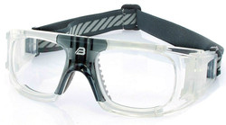 Adult Sports Goggles BL018 Clear / Grey  (Prescription/Rx Lenses Available)
