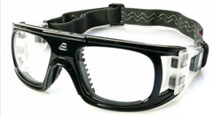 Adult Sports Goggles BL018 Black / Black (Prescription/Rx Lenses Available)
