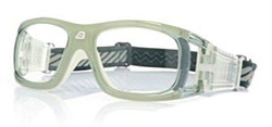 Adult Sports Goggles BL019 Grey / White (Prescription/Rx Lenses Available)