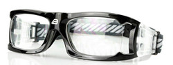 Adult Sports Goggles BL021 Black / Black (Prescription/Rx Lenses Available)