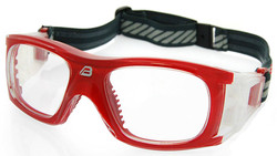 Adult Sports Goggles BL009 Red (Prescription/Rx Lenses Available)