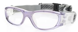 Kids Sports Goggles BL016 Purple / White 120mm Frame Width