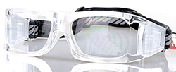 Adult Sports Goggles BL021 Clear / White (Prescription/Rx Lenses Available)