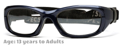 Rec Specs Maxx 31 [Shiny Navy Blue - 53 Eye Size] (Prescription/Rx Lenses Available)