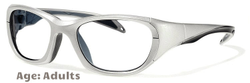 Rec Specs F8 Morpheus II [Shiny Silver - 55 Eye Size] (Prescription/Rx Lenses Available)
