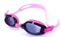 Pink Kids Prescription Swim Goggles with Farsight Correction