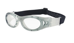 M2P Teens / Adults Prescription Sports Goggles MP046 Grey / White