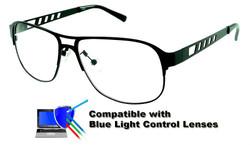 Thompson - Black Prescription Glasses