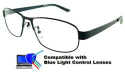 San Juan - Dark Grey Prescription Glasses