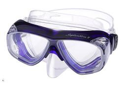 TUSA M40 Splendive IV Prescription Diving Mask - Cobalt Blue