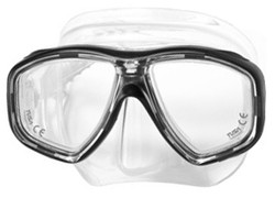 TUSA M28 Geminus Prescription Diving Mask - Black