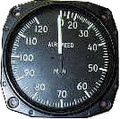 Falcon Gauges ASI180N-3 Non-approved Air Speed Indicator for use on Permit/Experimental Aircraft Only
