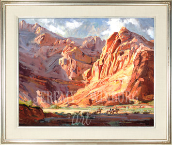 Snow Canyon Shadows Original (SOLD)