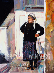 The Potato Seller Original (SOLD)