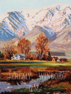 Wellsville Farm Original (SOLD)