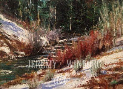 Logan Canyon Winter Original