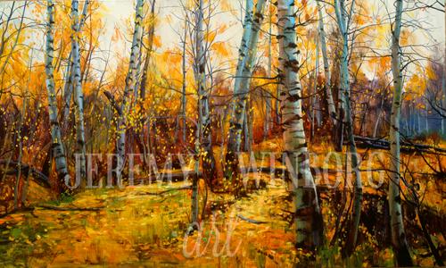 Aspen Grove Large Giclée Print Studio Sale