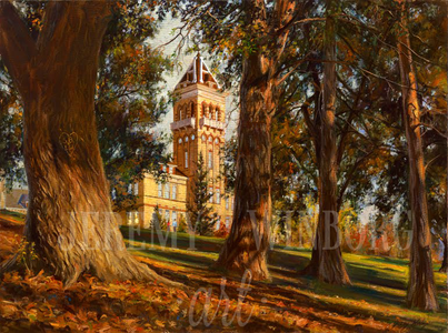 Old Main Memories Medium Giclée Print Studio Sale