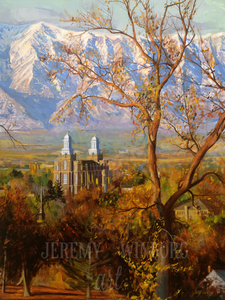 Cache Valley Autumn Giclée Print Studio Sale