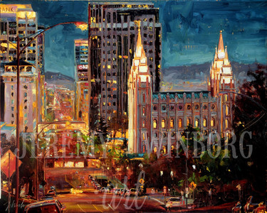 View from Capitol Hill Medium Giclée Print Studio Sale