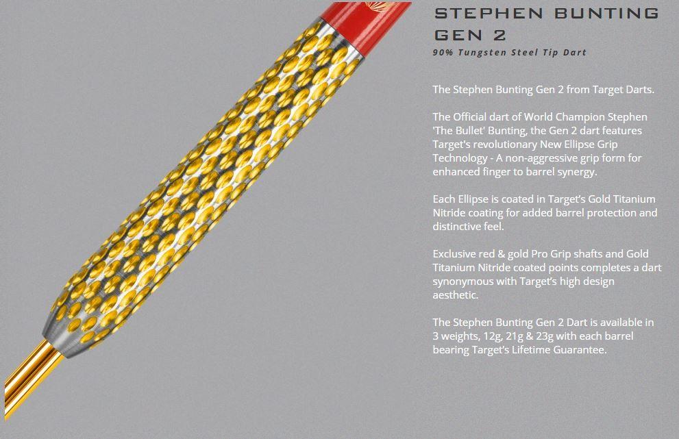 Stephen Bunting Steel Tip
